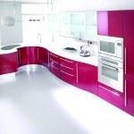 кухни крашеные