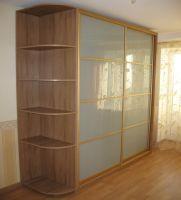 С матовыми стеклами Размер (ВхШхГ): 2500х1700х600 Срок изготовления: 7 рабочих дней. Цена 19 000 руб