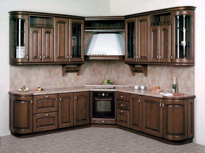 мебель из дуба для кухни