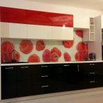 Кухня крашеный фасад