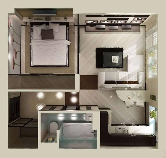 Особенности выбора мебели для малогабаритной квартиры