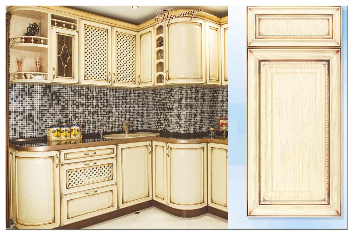фасады с патиной для кухни фото