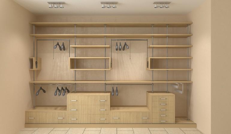 Встроенная корпусная мебель