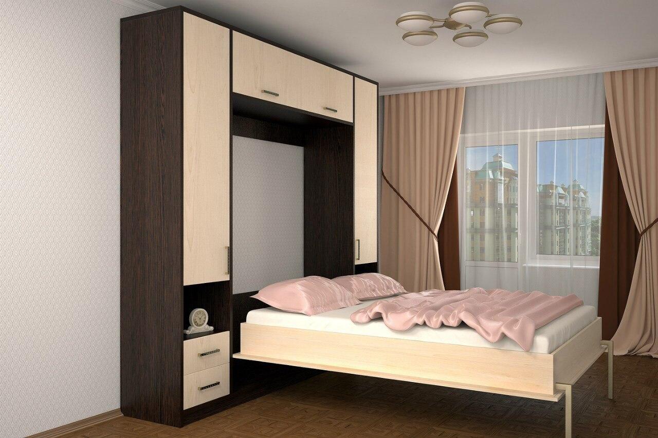 Встраиваемые откидные кровати встроенная в шкаф своими руками фото 208