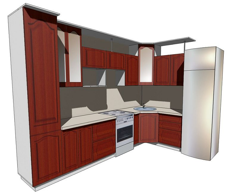 кухни в кошелев проект